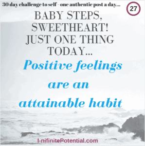 Tired of being unhappy – how to establish positive feelings?